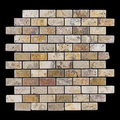 Scabos Travertine Subway Tile by Travertine Quot Scabos Quot Monterrey Tile Company