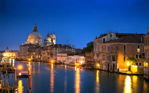 Venice Italy The Grand Canal Architecture 3840x1080 Hd