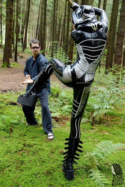 womans fashion catsuits   natural rubber latex