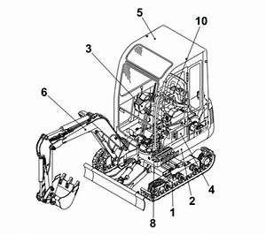 Takeuchi Tb135 Compact Excavator Parts Manual Download