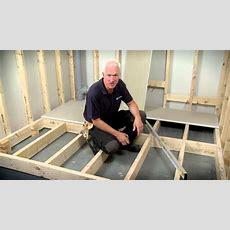 Hardiefloor® Structural Interior Flooring Installation
