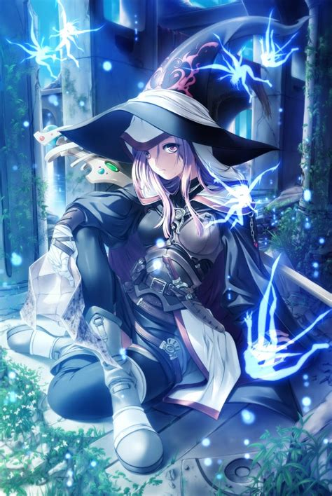 Anime Girl Witch Wallpaper Oct 22 2016 Anonymous Asks Who S This Character