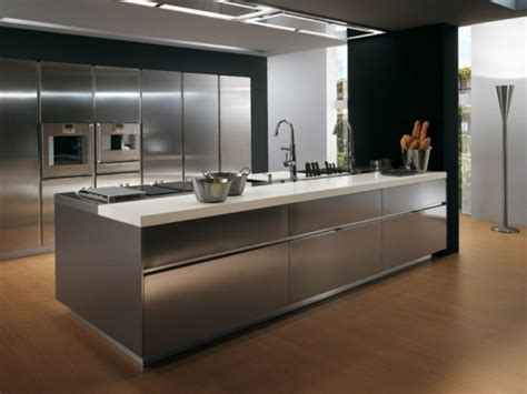 stainless steel kitchen storage cabinets 4 great materials for your kitchen cabinets kaodim