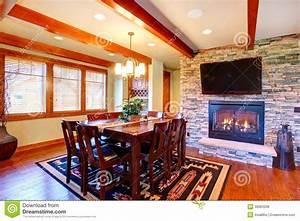 Salle A Manger De Luxe : int rieur de luxe de maison salle manger photo stock image du d cor famille 39963208 ~ Melissatoandfro.com Idées de Décoration