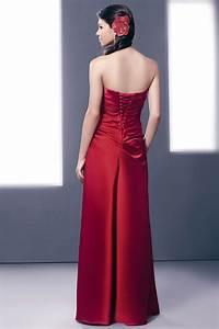 robe longue bustier vague vintage pour cortege mariage With robe vague
