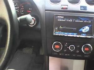 Alpine Headunit Install In 2008 Altima Coupe