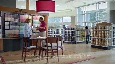 benjamin moore tv commercial    talking