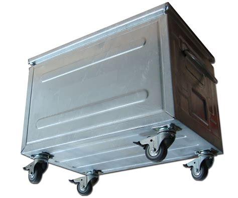 caisse de rangement metallique caisse metallique caisses metal de rangement