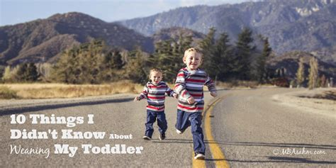 10 Things I Didnt Know About Weaning A Toddler Mba Sahm