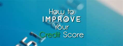 How To Improve Your Credit Score (no Matter What It Is Now