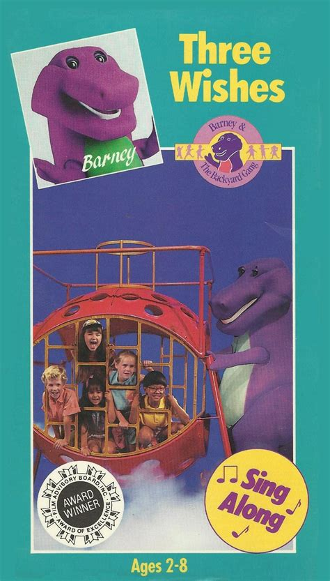Barney And The Backyard Vhs by Barney And The Backyard Design Builders