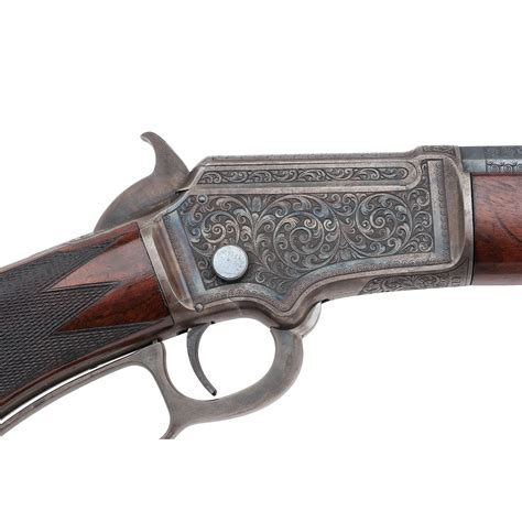factory engraved marlin model   variation rifle