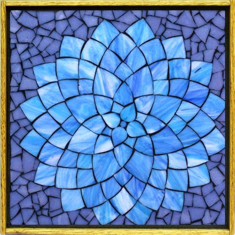 mosaic templates kasia mosaics classes 187 flower class