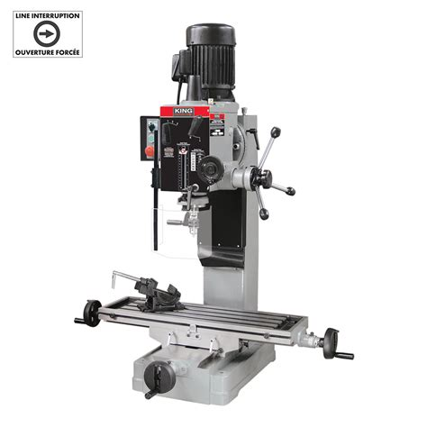 gearhead milling drilling machine  safety guard king