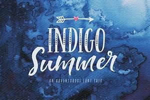 Indigo Summer F... Creative Market