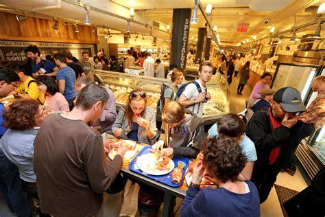 food  fills  hall   york times