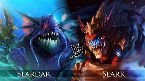 dota 2 slark slardar one click battle rematch youtube