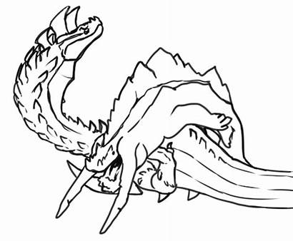Dalamadur Mohran Monster Hunter Coloring Jhen Deviljho