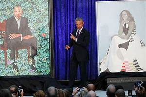 Obama portraits unveiled, break with tradition - ABC News