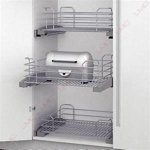 Amenagement Tiroir Cuisine : tiroir fil am nagement coulissant placard accessoires de ~ Edinachiropracticcenter.com Idées de Décoration