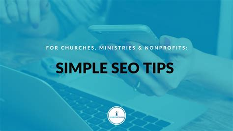 Simple Seo by Simple Seo Tips For Christian Organizations Missionfound