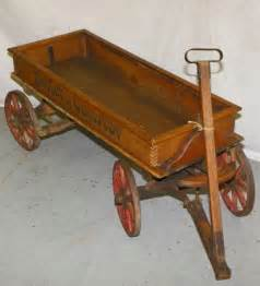 Antique Wooden Toy Wagons