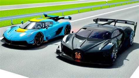 Please subscribe to the channel here: Bugatti Black Devil VGT vs Koenigsegg Jesko with Jet Engine at Autobahn - YouTube