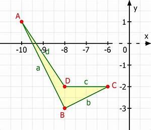 Abstand Zwischen Zwei Punkten Berechnen : viereck zeigen mit vektorrechnung und fl che und umfang berechnen mathelounge ~ Themetempest.com Abrechnung