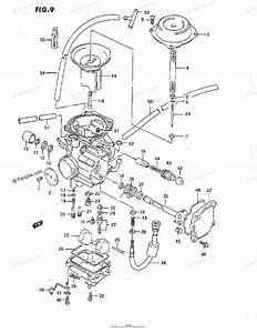 Suzuki Atv 1993 Oem Parts Diagram For Carburetor