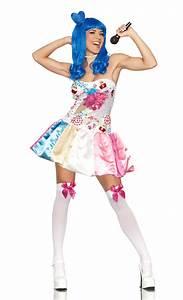 Katy PERRY Candy CUPCAKE California Girls Costume DRESS ...