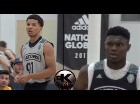 zion williamson cole anthony    great game
