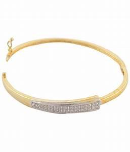 Affinity Gold Designer American Diamond Bracelet: Buy ...