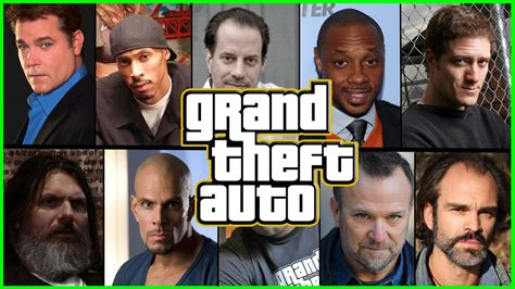 All Gta Protagonist Real Life Voice Actors (from Gta 3 To