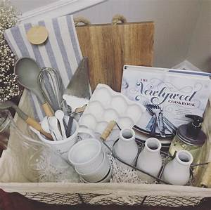 A diy wedding gift basket for What to give as a wedding gift