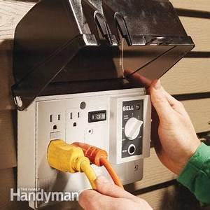 Outdoor Outlet Altwarmbüchen : how to add an outdoor outlet the family handyman ~ Markanthonyermac.com Haus und Dekorationen