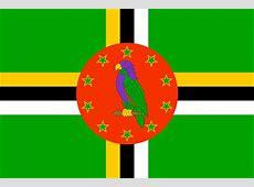 National Flag of Djibouti, Dominica, Dominican Republic