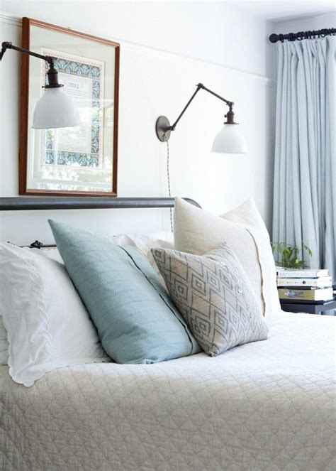 over the bed reading ls reading light sconces over bed bedroom ideas pinterest