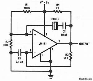 Crystal controlled comparator oscillator electrical for Controlled comparator oscillator circuit diagram tradeoficcom