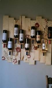 best 25 homemade wine racks ideas on pinterest wine With kitchen cabinets lowes with how to make stickers to sell on etsy