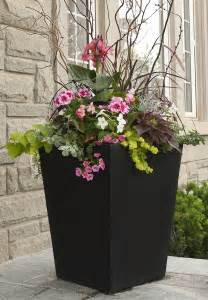 Tall Outdoor Flower Planters