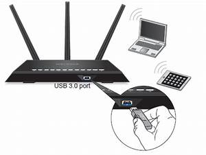 How do I connect a USB drive to my Nighthawk router ...