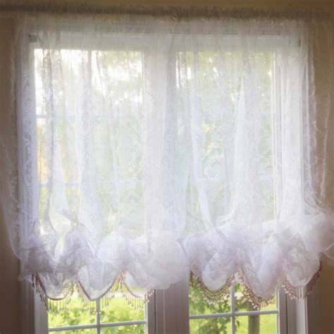 shabby chic window curtains 4 styles of shabby chic window curtains