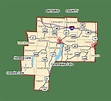 Finger Lakes, New York   Ontario County   Map