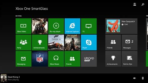 xbox one smartglass app for windows in the windows store