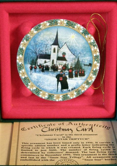 p buckley moss anna perenna christmas ornaments by