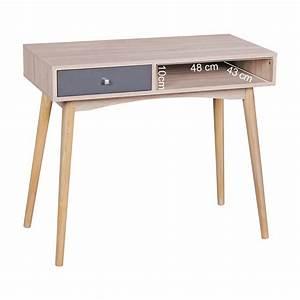 Schreibtisch 90 Cm : schreibtisch mit schub 90 cm sonoma computertisch kleiner b rotisch mit ablage ebay ~ Whattoseeinmadrid.com Haus und Dekorationen