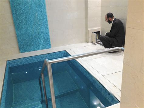 buffalo grove couple opens mikvah spa   garage