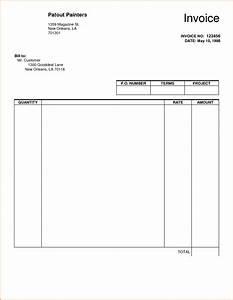 8 blank invoice template pdf authorizationlettersorg With work invoice template pdf