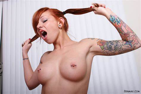 Pigtail Redhead Gal Educates Adorable Flexible Kinky Gfs