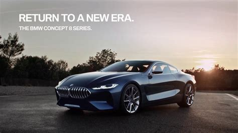 Bmw Concept 8 Series Return To A New Era Full Hd,1920x1080